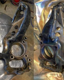 Forged Offroad Reinforced 2010-2014 Ford raptor steering knuckles - spindles