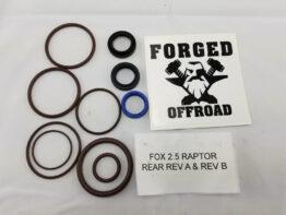 Fox 2010-2014 Ford Raptor Rear Shock Viton Rebuild Kit Forged Offroad