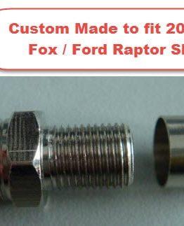 Ford Raptor Shock Custom Schrader Valve Forged Offroad