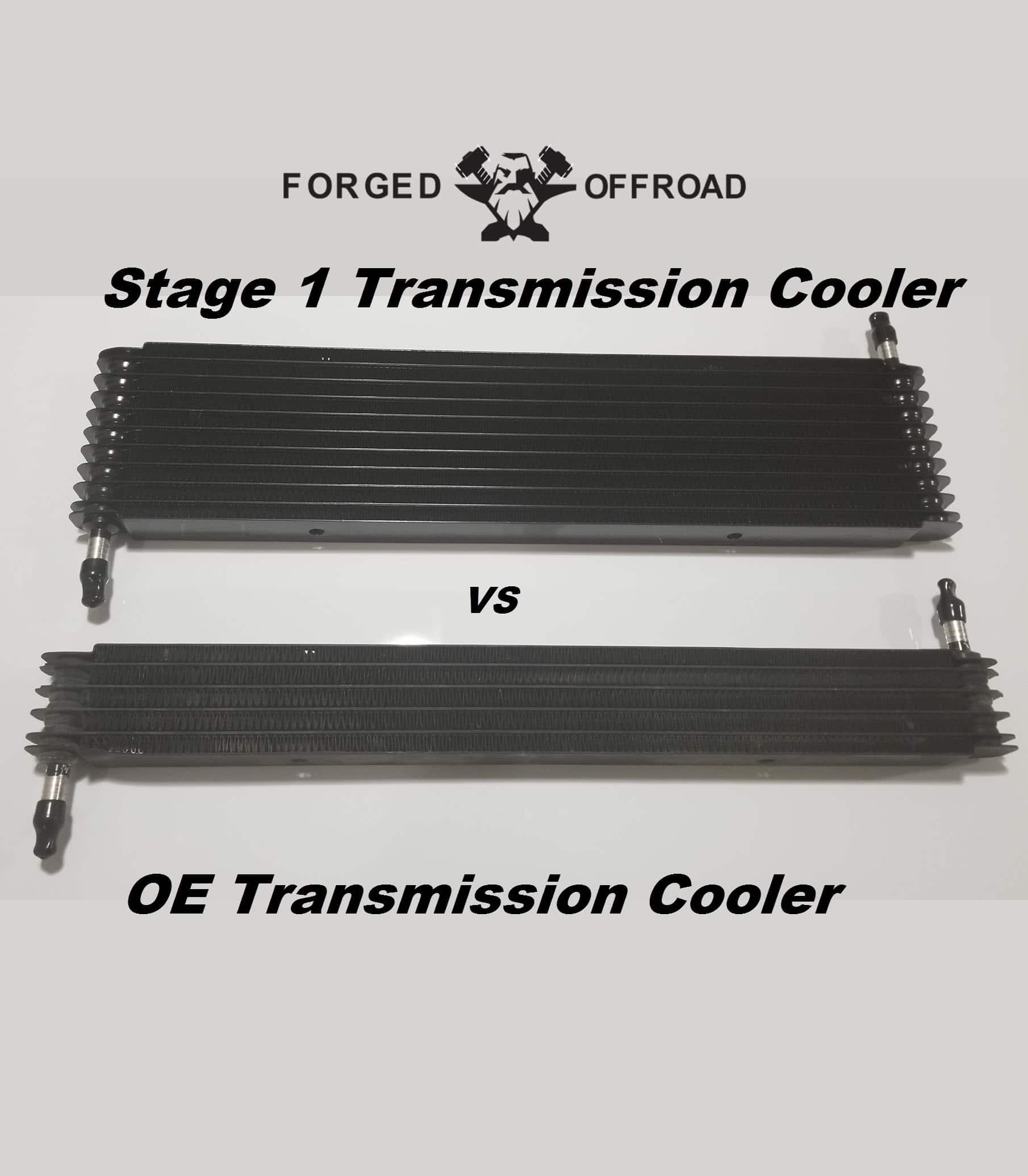 2017 Ford Flex Transmission: 2010-14 Ford Raptor Transmission Cooler Stage 1