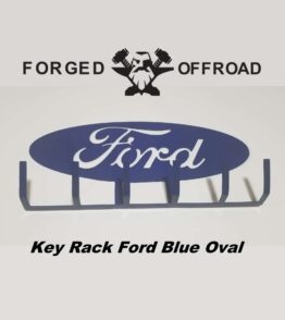 Wall Mount Ford Blue Oval Key Rack