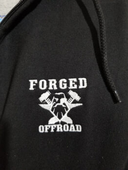 Forged Offroad Embroidered Full Zip Hooded Sweatshirt
