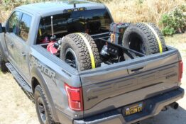 2017 up Ford Raptor Bed Rack Back Loaded Rear