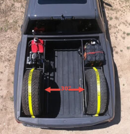 2017 up Ford Raptor Bed Rack Top 30 inches
